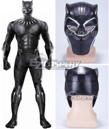 Marvel Black Panther 2018 Movie T'Challa Black Panther Mask Cosplay Accessory Prop