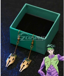 JoJo's Bizarre Adventure: Diamond is Unbreakable Rohan Kishibe New Earrings Cosplay Accessory Prop