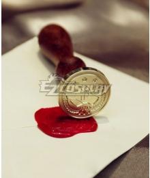 Violet Evergarden Violet Evergarden Wax Seal Stamp Full Set Cosplay Accessory Prop