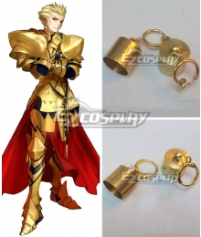Fate Grand Order Fate Stay Night Fate Zero Archer Gilgamesh Earrings Ear clips Cosplay Accessory Prop