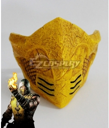 Mortal Kombat X Scorpion Mask Cosplay Accessory Prop