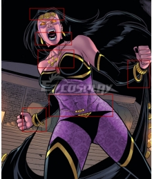 Marvel Deadpool The Gauntlet Shiklah Cosplay Accessory Prop