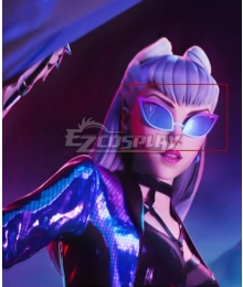 League Of Legends LOL K/DA ALL OUT Seraphine Superstar Earphone Cosplay Accessory Prop
