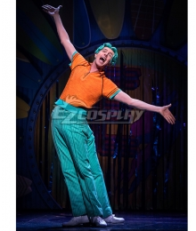 Encyclopedia SpongeBobia The Broadway Musical Squidward Tentacles Cosplay Costume