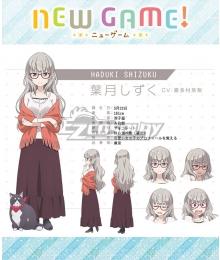 New Game! Shizuku Hazuki Cosplay Costume
