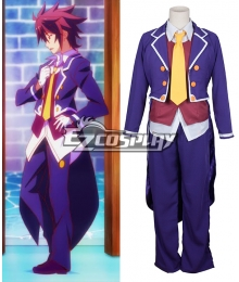 No Game No Life Sora uniform Cosplay Costume