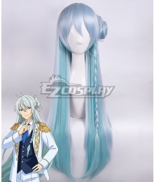 Ensemble Stars Fine Hibiki Wataru Blue Silver Cosplay Wig