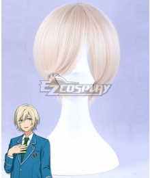 Ensemble Stars Fine Tenshouin Eichi Golden White Cosplay Wig