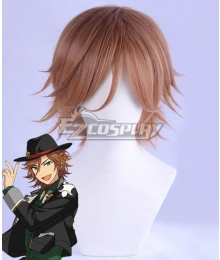 Ensemble Stars!! Madara Mikejima Brown Cosplay Wig
