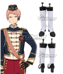 Ensemble Stars Shu Itsuki White Shoes Cosplay Boots