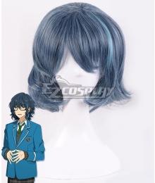 Ensemble Stars Switch Tsumugi Aoba Blue Cosplay Wig