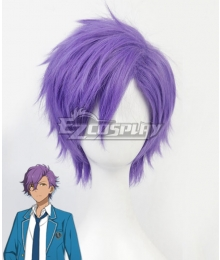 Ensemble Stars Undead Otogari Adonis Purple Cosplay Wig