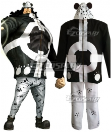 One Piece Bartholomew Kuma Cosplay Costume