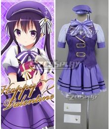 Gochuumon wa Usagi Desu ka? Is the Order a Rabbit? Rize Tedeza Happy Valentine Cosplay Costume