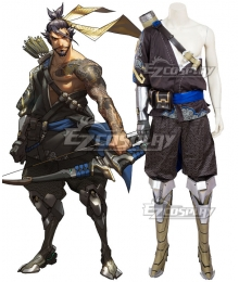 Overwatch OW Hanzo Shimada Cosplay Costume - A Edition