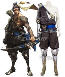 Overwatch OW Hanzo Shimada Cosplay Costume - A Edition