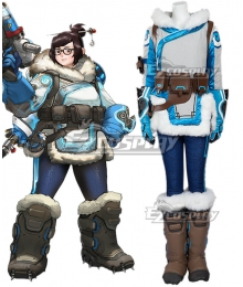 Overwatch OW Dr. Mei Ling Zhou Cosplay Costume