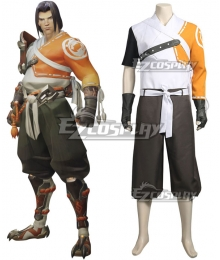 Overwatch OW Young Hanzo Cosplay Costume