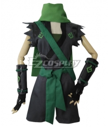 Overwatch OW Sparrow Genji Female Cosplay Costume