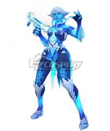 Overwatch Sombra Rime Render Cosplay Costume
