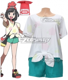 Pokemon Sun and Moon Heroine Cosplay Costume