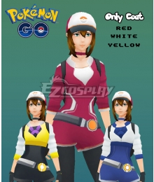 Pokémon GO Pokemon Pocket Monster Trainer Female Cosplay Costume - Only Coat