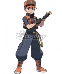 Pokémon Ranger Trainer Class Jackson Cosplay Costume