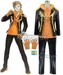 Pokémon GO Pokemon Pocket Monster Spark Team Instinct Cosplay Costume - With hoodie