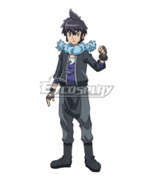 Pokémon XY Pokemon Pocket Monster Alain Cosplay Costume