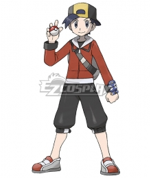 Pokémon Crystal HeartGold SoulSilver Pokemon Pocket Monster Ethan Gold Cosplay Costume