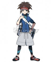 Pokémon Black White 2 Pokemon Pocket Monster Nate Cosplay Costume