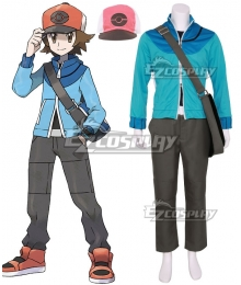 Pokémon Black White Pokemon Pocket Monster Hilbert Cosplay Costume