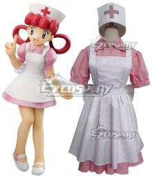 Pokemon Sun and Moon Nurse Joy Cosplay Costume