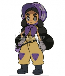 Pokemon Sun and Moon Hapu Cosplay Costume