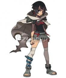 Pokémon Omega Ruby and Alpha Sapphire Pokemon Pocket Monster Zinnia Lorekeeper Cosplay Costume