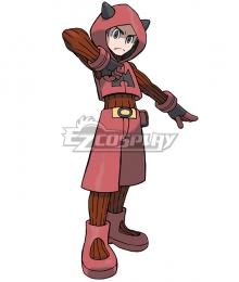 Pokémon Omega Ruby Pokemon Pocket Monster Team Magma Grunt Male Cosplay Costume
