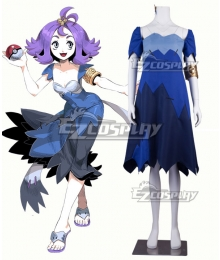 Pokemon Sun and Moon Acerola Cosplay Costume - Premium Edition