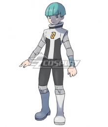 Pokemon Galactic Grunt Male Cosplay Costume