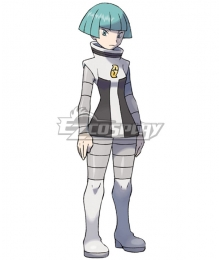 Pokemon Galactic Grunt Female Cosplay Costume