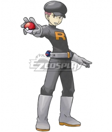 Pokemon Team Rocket Grunt Male Cosplay Costume - A Edition