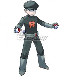 Pokemon Team Rocket Grunt Male Cosplay Costume - B Edition