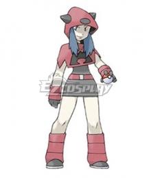 Pokemon Team Magma Female Cosplay Costume