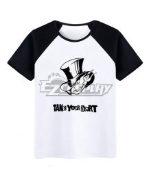 Persona 5 T-shirt Cosplay Costume