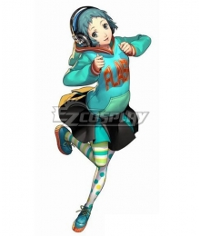 Persona 3: Dancing Moon Night Fuuka Yamagishi Cosplay Costume