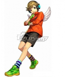 Persona 3: Dancing Moon Night Ken Amada Cosplay Costume