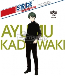 Prince of Stride Alternative Hounan School Ayumu Kadowaki Uniforms Cosplay Costume