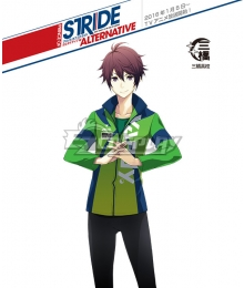 Prince of Stride Alternative Mihashi School Aoi Shima Athletic Wear Cosplay Costume