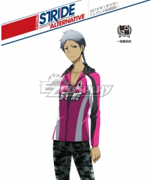 Prince of Stride Alternative Ichijyoukan School Arata Samejima Athletic Wear Cosplay Costume