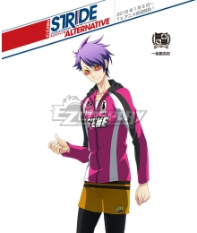 Prince of Stride Alternative Ichijyoukan School Tetsu Hachiya Athletic Wear Cosplay Costume
