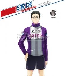Prince of Stride Alternative Ichiba School Ikki Masunari Athletic Wear Cosplay Costume